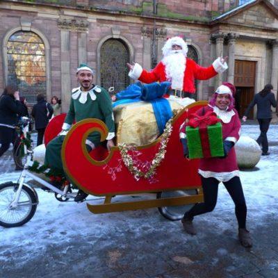 Santas Pedal Sleigh