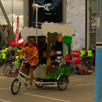 Wind-Solar-Pedal Rides